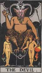 devil stenbocken tarot astrologi